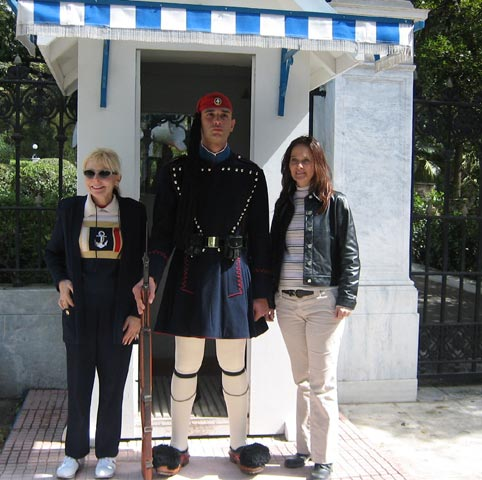 power pixie wendy and guard athens greece