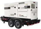 MQ Power, Trailer Mounted Industrial Diesel Generators - Single and Three Phase - Mobile Whisperwatt  Whisperwatt Series, 45,000 watts (45 kW) to 640,000 watts (640 kW).
