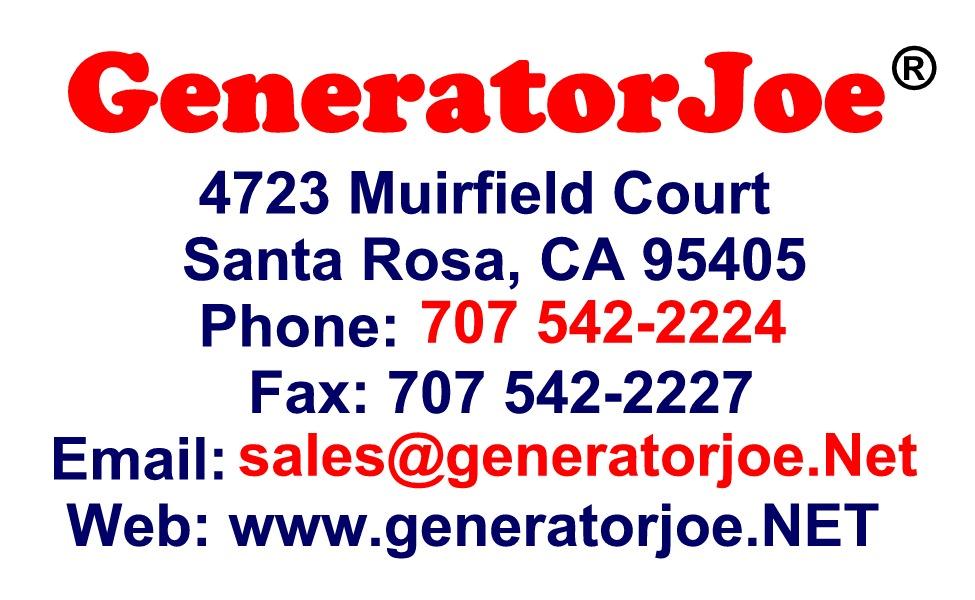 GeneratorJoe Card