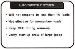 auto-throttle system