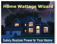 Home Wattage Wizard Sign