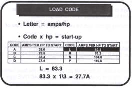 load code