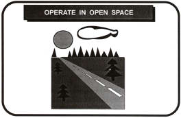 operate generator in open space