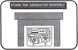 store generator properly