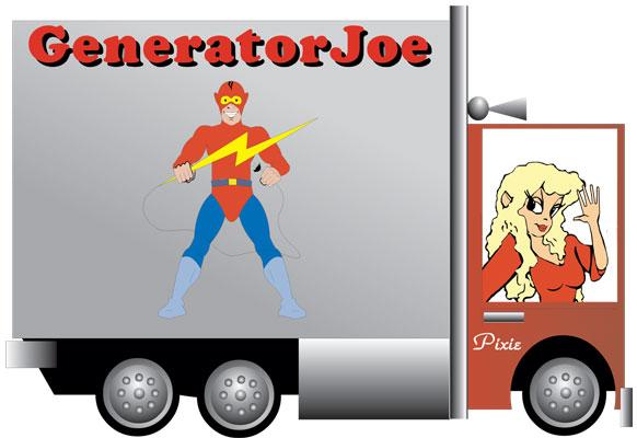 generatorjoe truck